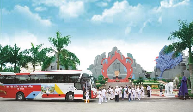 Chương trình đưa rước Quí khách đi tham quan, thăm viếng mộ dịp cuối năm