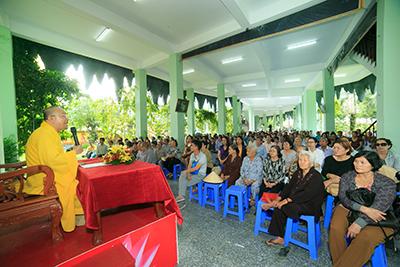 Hoa viên Nghĩa trang Bình Dương tổ chức đại lễ cầu siêu tiết Thanh Minh 2017