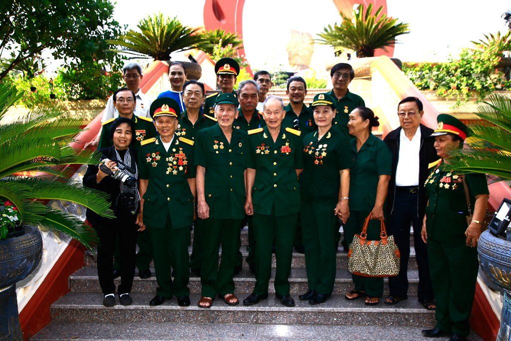 Họp mặt truyền thống Lữ đoàn 316 đặc công biệt động tại Hoa viên NT Bình Dương