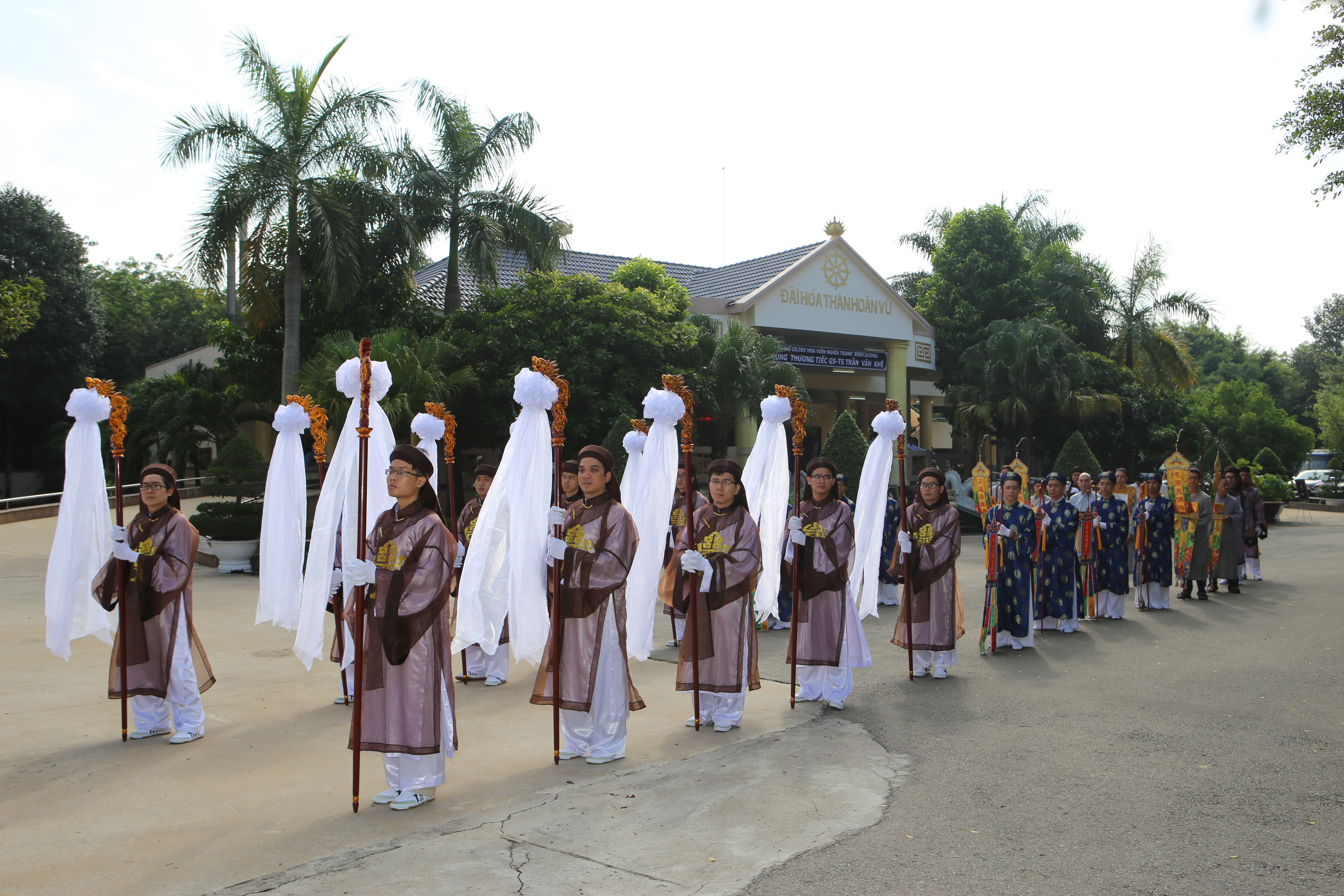 Dịch vụ tang lễ tại Hoa viên nghĩa trang Bình Dương