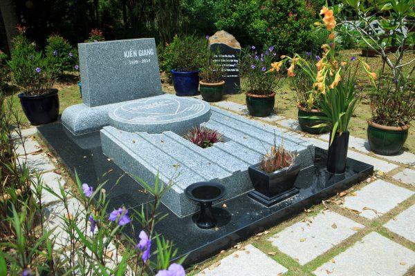 mẫu xây mộ đẹp