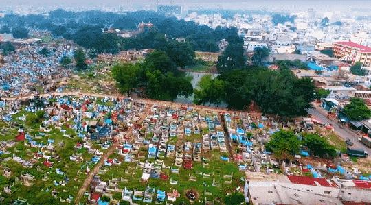 hiện trạng đất nghĩa trang
