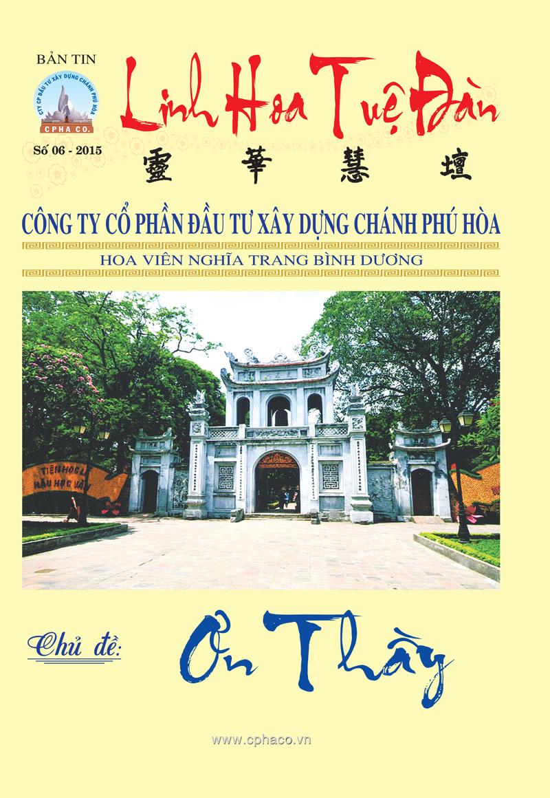 Bản tin Linh Hoa Tuệ Đàn (số 6 – 2015)