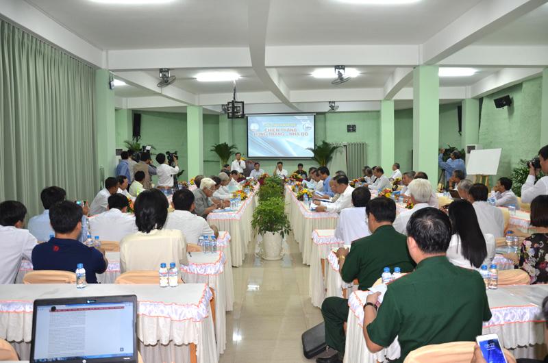Hội thảo khoa học chiến thắng Bông Trang – Nhà Đỏ tại Linh Hoa Tuệ Đàn