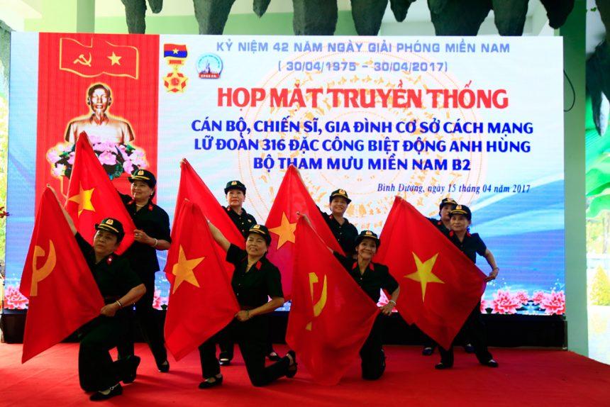 Họp mặt truyền thống Lữ đoàn 316