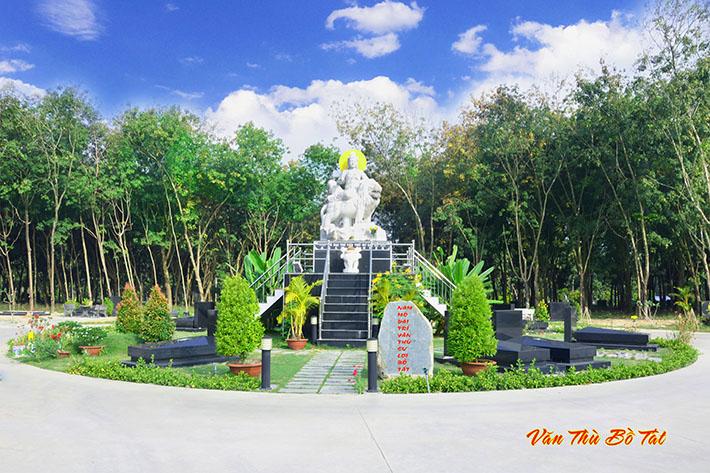 Khu Bồ Tát Văn Thù – Phổ Hiền