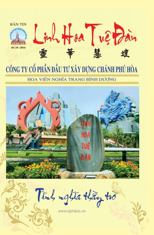 Bản tin Linh Hoa Tuệ Đàn (số 10 – 2016)