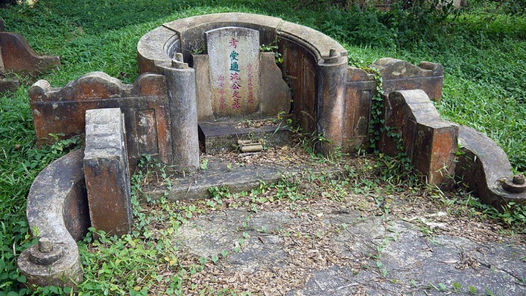 lăng mộ đơn giản