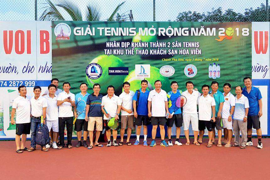 Tổng kết giải tennis Hoa Viên mở rộng 2018