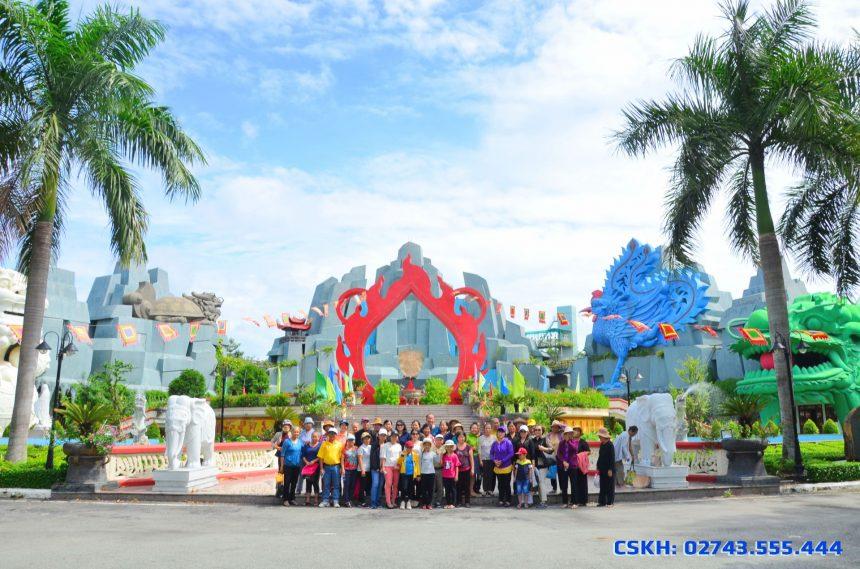 Đoàn khách Trung tâm TDDS Thuận An