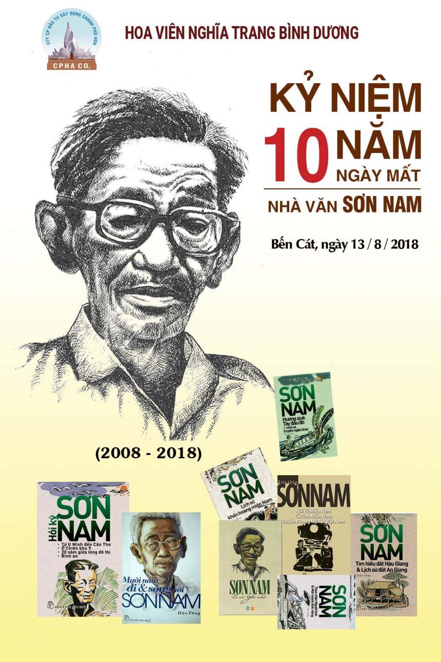 Kỷ niệm 10 năm ngày mất Nhà văn Sơn Nam