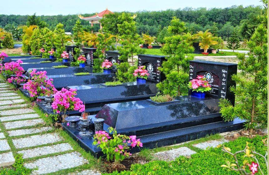chăm sóc mộ phần tại công viên nghĩa trang bình dương
