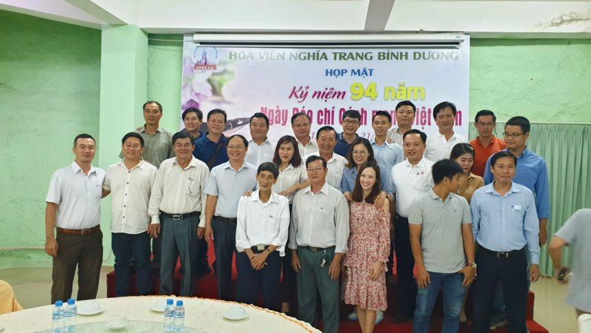 Họp mặt kỷ niệm 94 năm Báo chí Cách mạng Việt Nam