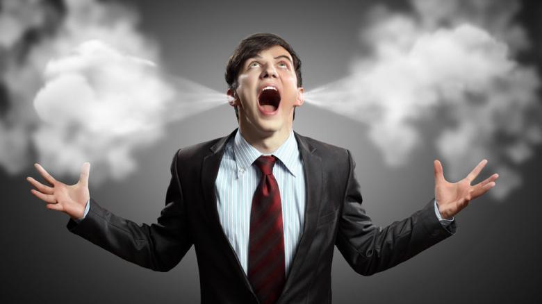 Giận dữ là một cảm xúc tiêu cực ai cũng trải qua