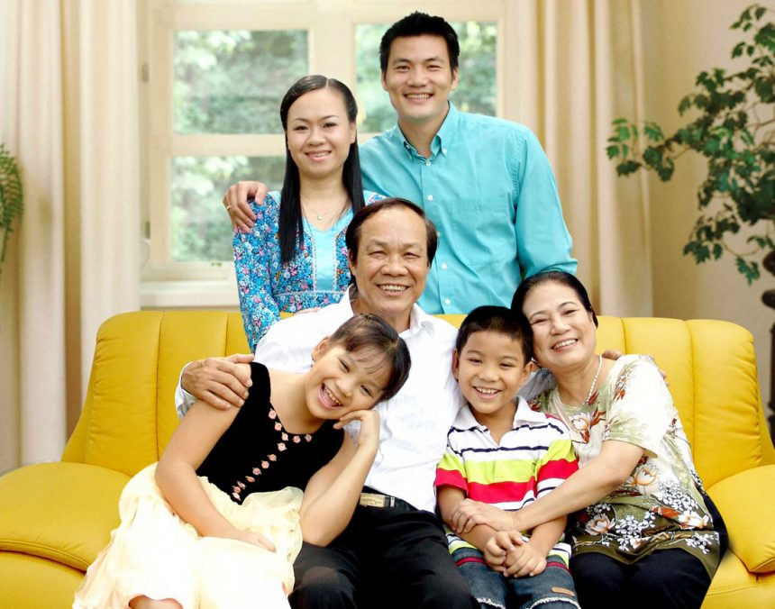 Gia đình là nơi cho bạn niềm tin, động lực và sức mạnh để làm tất cả mọi thứ.
