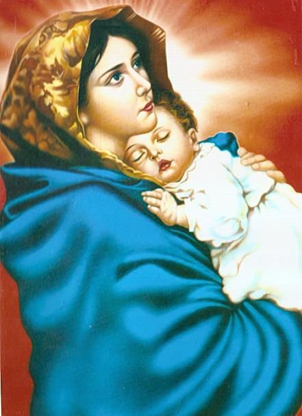 Đức mẹ Mary (hay còn gọi là đức mẹ Maria)