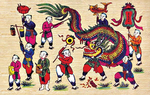 Tục vui Tết Trung Thu đã có từ thời Đường Minh Hoàng bênTrung Hoa, vào đầu thế kỷ thứ tám (713-741). Ảnh minh họa