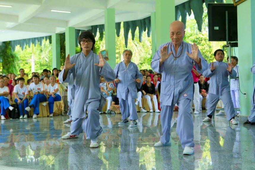 Thể dục dưỡng sinh với Dịch Cân Kinh