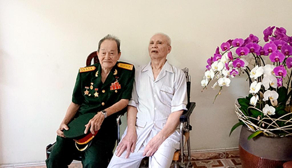 ông Nguyễn Văn Tàu và ông Đặng Văn Thân