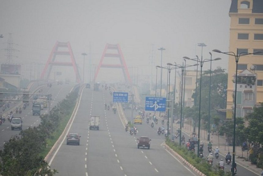 Tình trạng ô nhiễm không khí tại TP.HCM