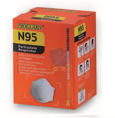 Khẩu trang theo tiêu chuẩn N95