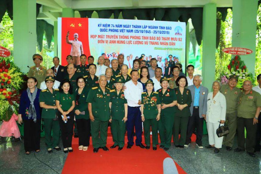 Hơn 300 cựu chiến binh tình báo họp mặt kỷ niệm 74 năm thành lập ngành tình báo Việt Nam