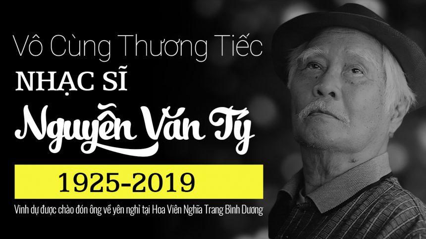Vĩnh biệt nhạc sĩ tài hoa Nguyễn Văn Tý