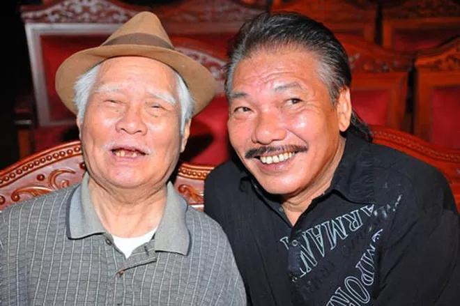 Nhạc sĩ Trần Tiến (phải) và Nhạc sĩ Nguyễn Văn Tý