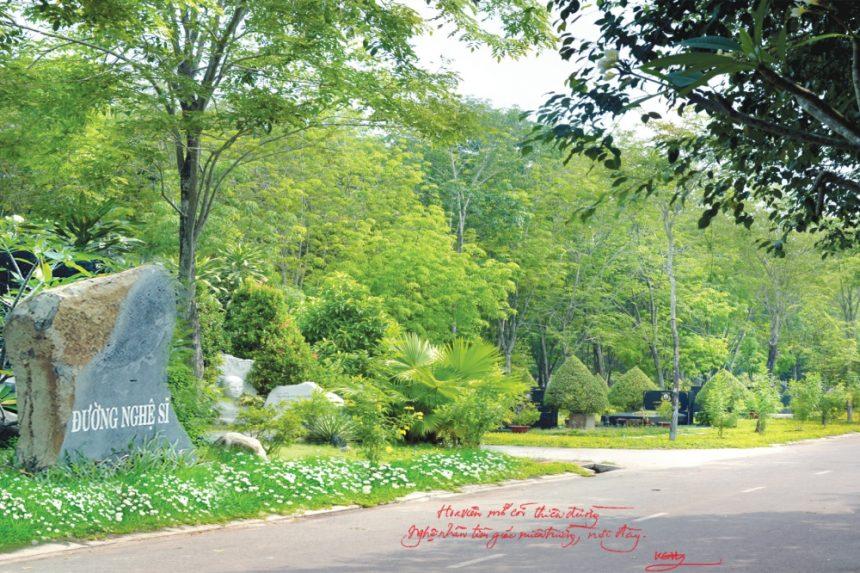 Đường Nghệ Sĩ, nơi nghệ sĩ Hồ Kiểng và các đồng nghiệp khác yên nghỉ nơi giấc ngàn thu