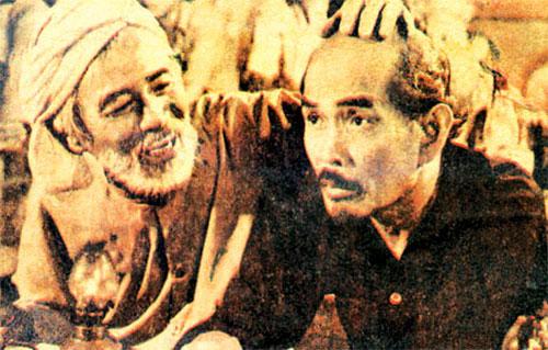 Hồ Kiểng và người bạn đồng nghiệp diễn viên-nhạc sĩ Bắc Sơn