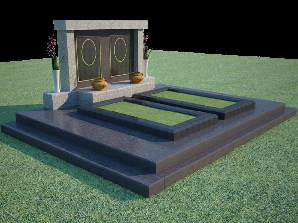 Mẫu mộ đá đôi đẹp 7