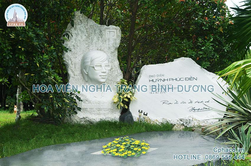 Mẫu lăng mộ đẹp của đạo diễn Huỳnh Phúc Điền