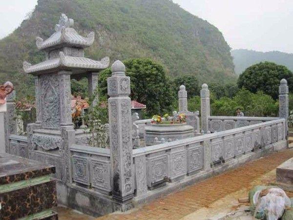 mẫu nghĩa trang gia đình 2