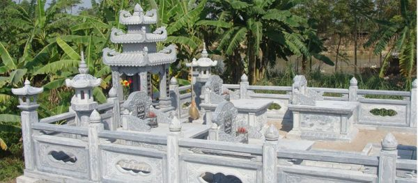 mẫu nghĩa trang gia đình 3