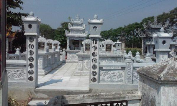 mẫu nghĩa trang gia đình 4
