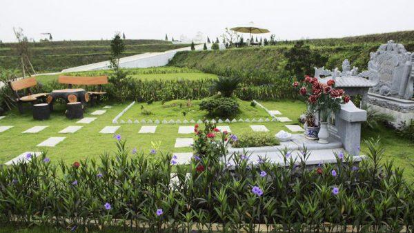 mẫu nghĩa trang gia đình 7