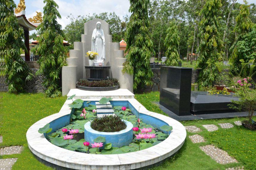 Thiết kế lăng mộ -Mẫu mộ đá đẹp 1