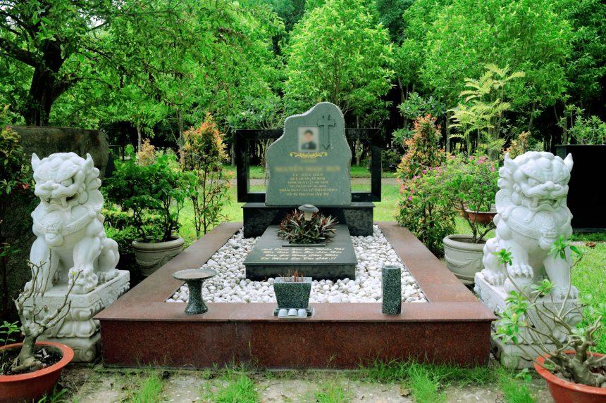 Thiết kế lăng mộ - Mẫu mộ đá đẹp 2