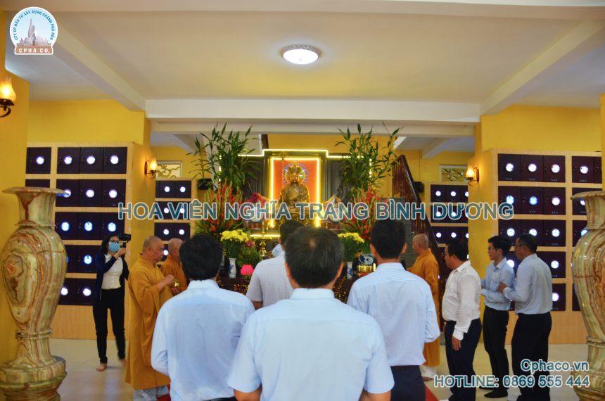 5 lý do chọn gửi tro cốt vào chùa Thiên Phước