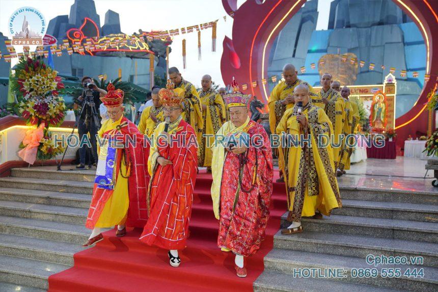 Lễ cầu siêu Tiết Thanh Minh tại Hoa Viên nghĩa trang Bình Dương
