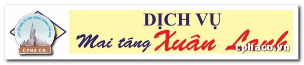 Dịch vụ mai táng Xuân Lanh Đà Nẵng