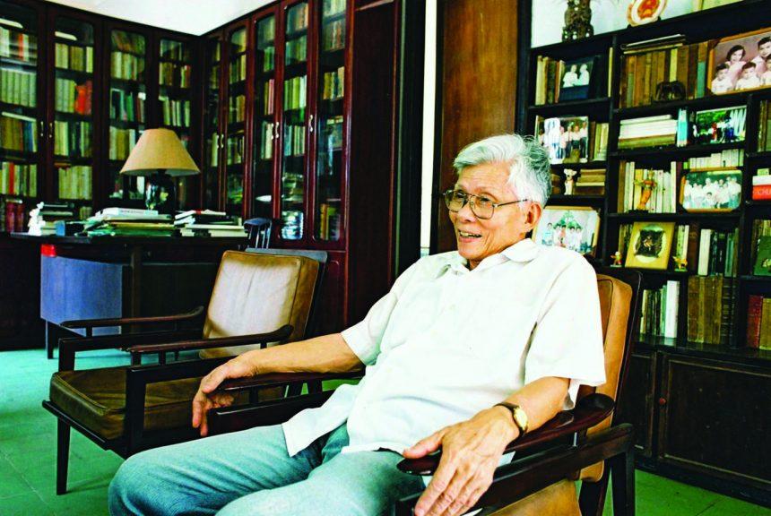 Giáo sư Lý Chánh Trung (Ảnh gia đình cung cấp)