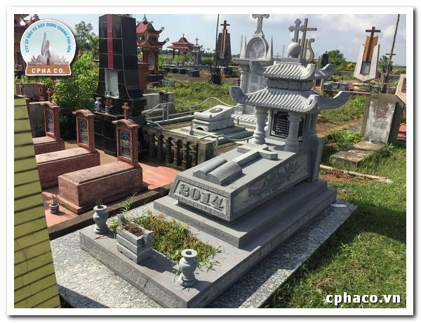 kiểu mộ công giáo