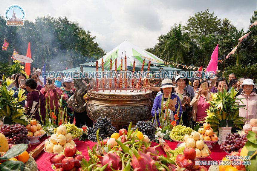 Đại lễ Vu Lan tại Linh Hoa Tuệ Đàn – Hoa Viên nghĩa trang Bình Dương