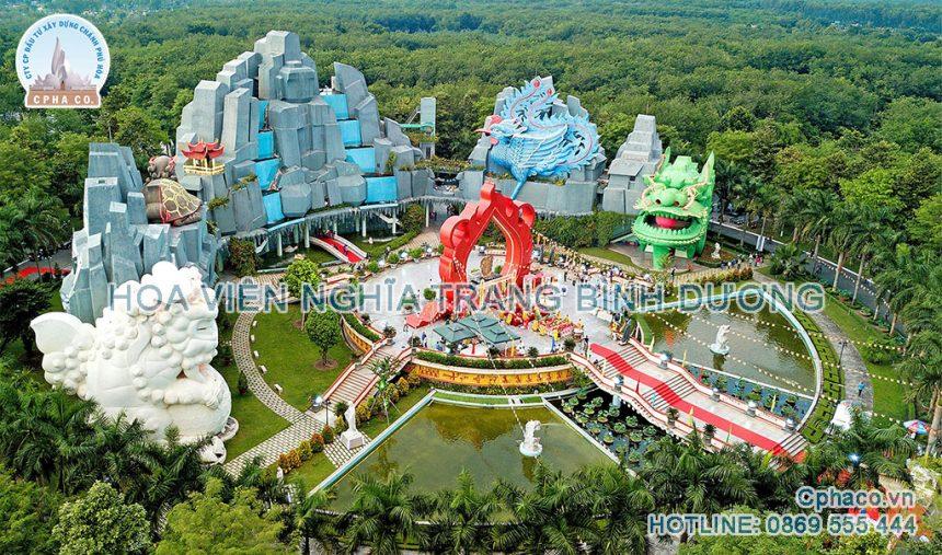 Linh Hoa Tuệ Đàn nơi tổ chức các sự kiện thường niên với hơn 7000 khách tham dự