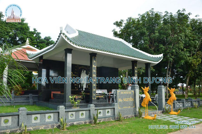 Mộ gia tộc Công giáo cao cấp – Hoa Viên nghĩa trang Bình Dương