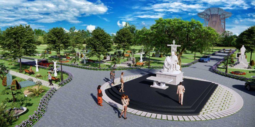 Quá trình hình thành khu mộ cao cấp Công giáo tại Hoa Viên nghĩa trang Bình Dương