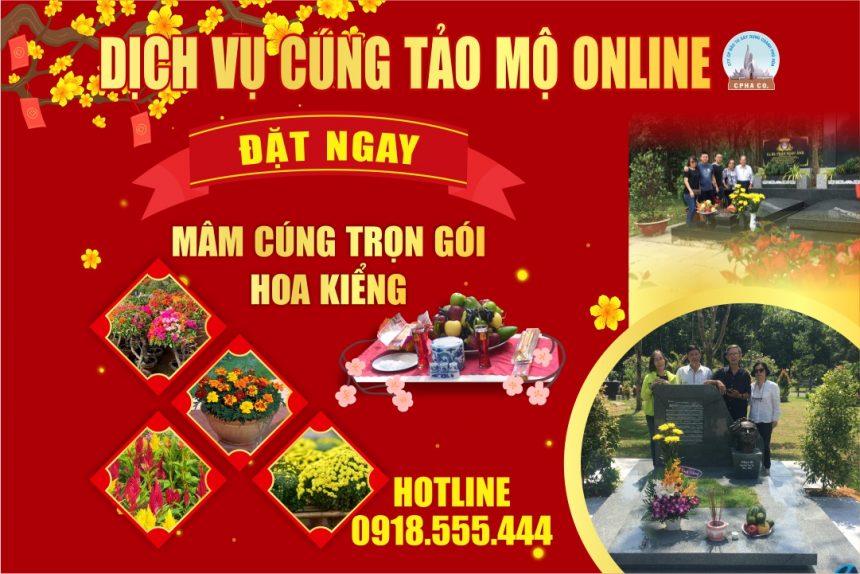 Dịch Vụ Cúng Tảo Mộ Online 2021