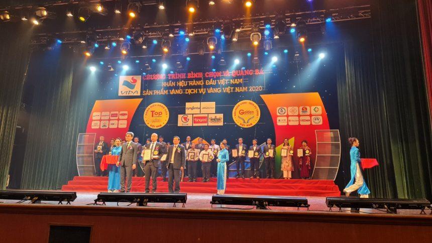 Hoa Viên Bình Dương vào top 50 dịch vụ vàng và top 100 nhãn hiệu hàng đầu Việt Nam 2020