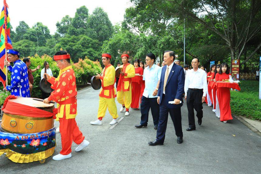 Lễ dâng hương tưởng niệm các Vua Hùng năm Tân Sửu 2021